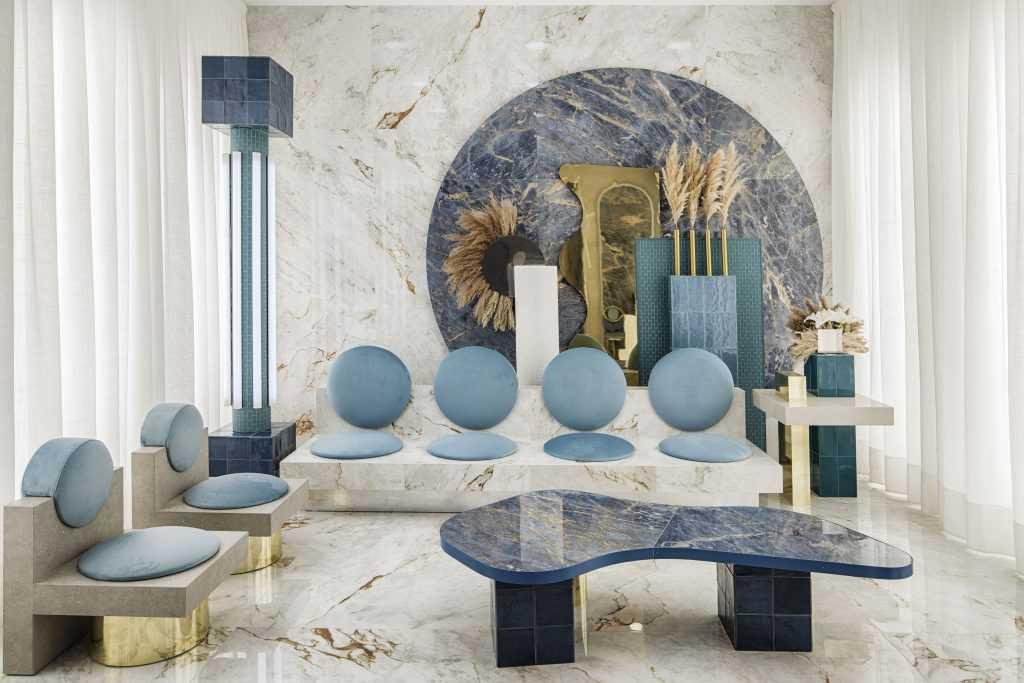 Casa Decor 2020 Concept Lounge by Masquespacio