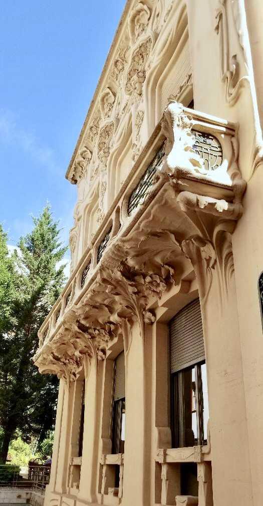Exterior of Sociedad General de Autores y Editores on calle Fernando VI in Chueca, Madrid