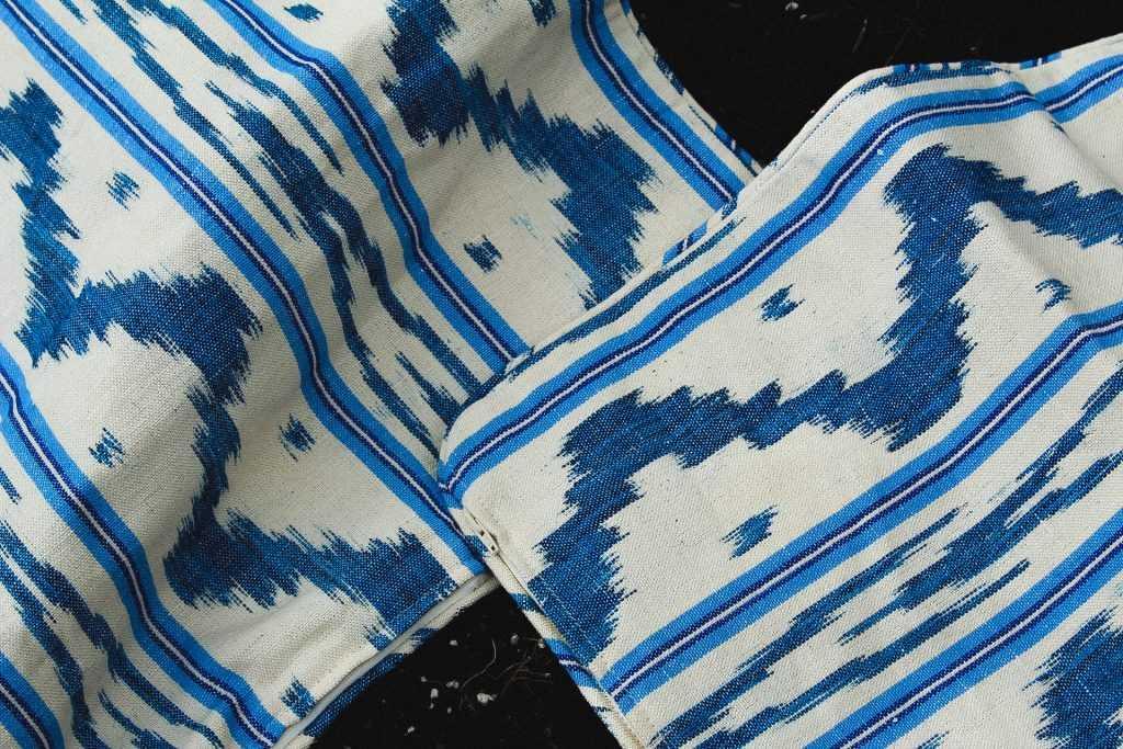 Cushion covers by Artesania Tèxtil Bujosa