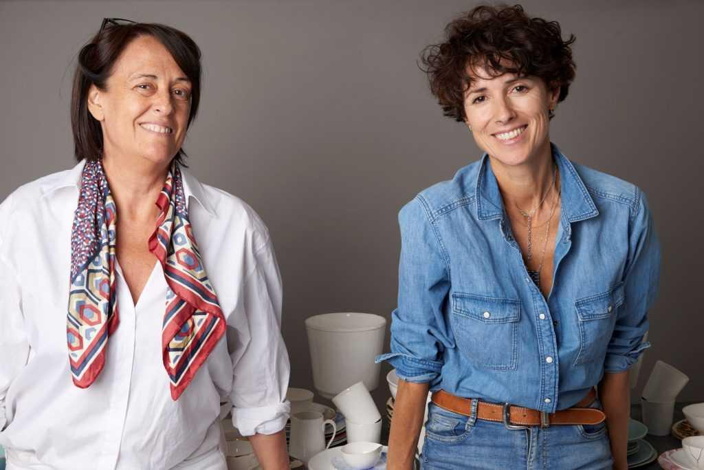Co-founders María José Díez and Natalia López of Vajillas del Ultramar