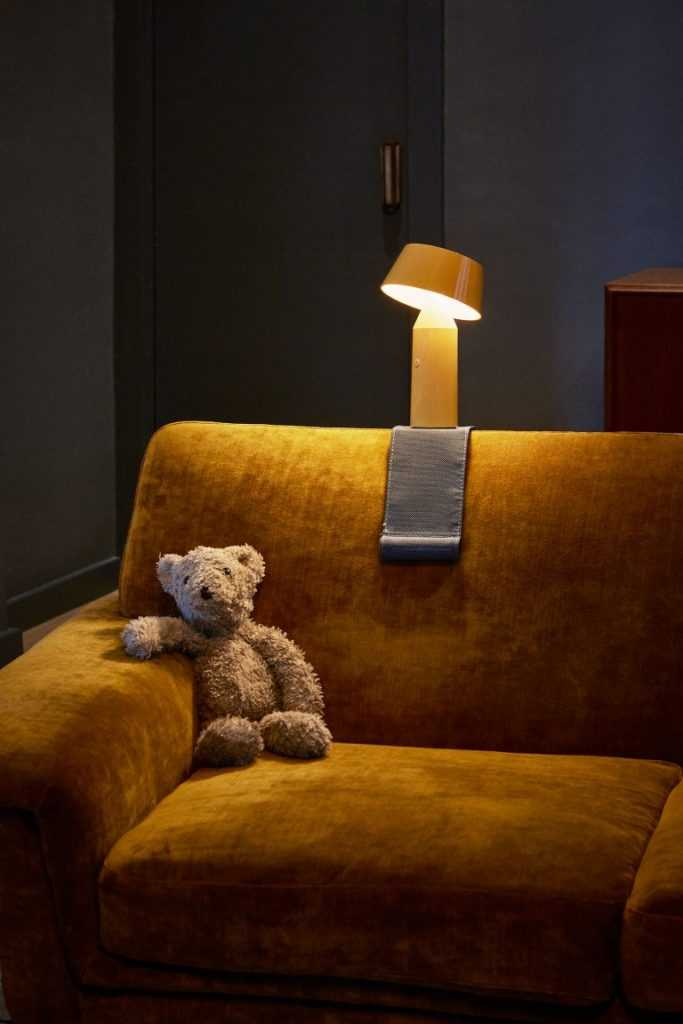 Bicoca Portable Lamp by Christophe Mathieu for Marset,