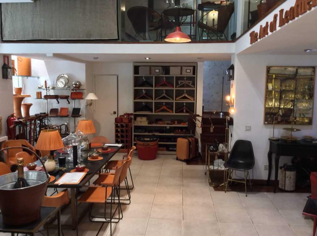 Interior of Sol y Luna Shop in Madrid