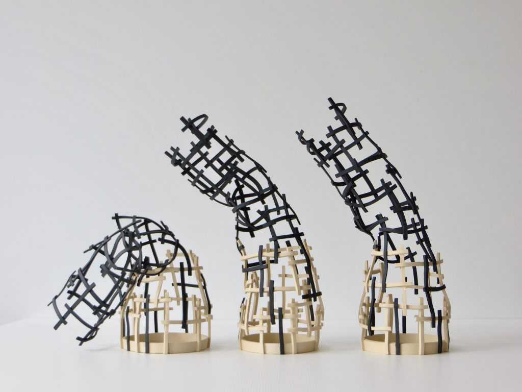 """""""Tirantel"""" ceramic work by Cristina Mato"""