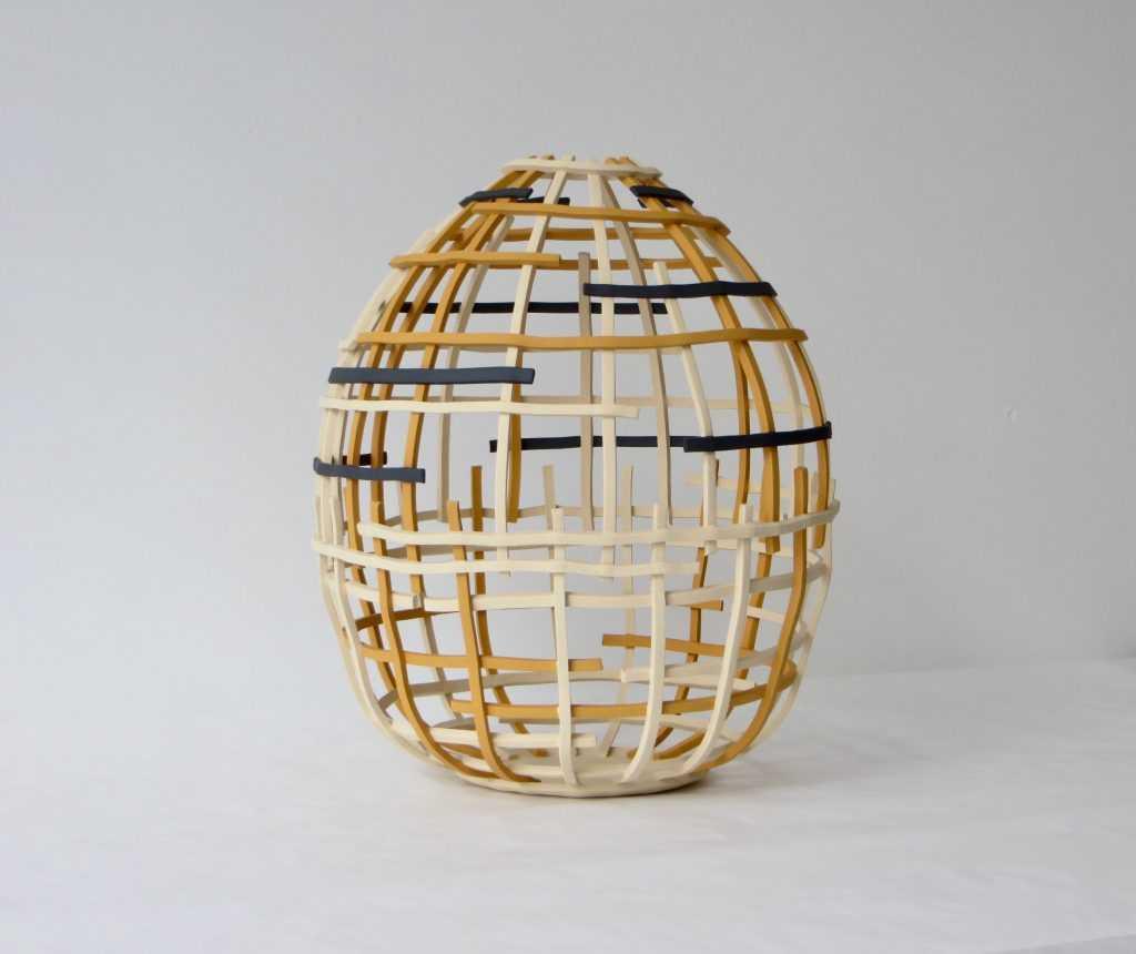 """Orbit"" ceramic work by Cristina Mato"