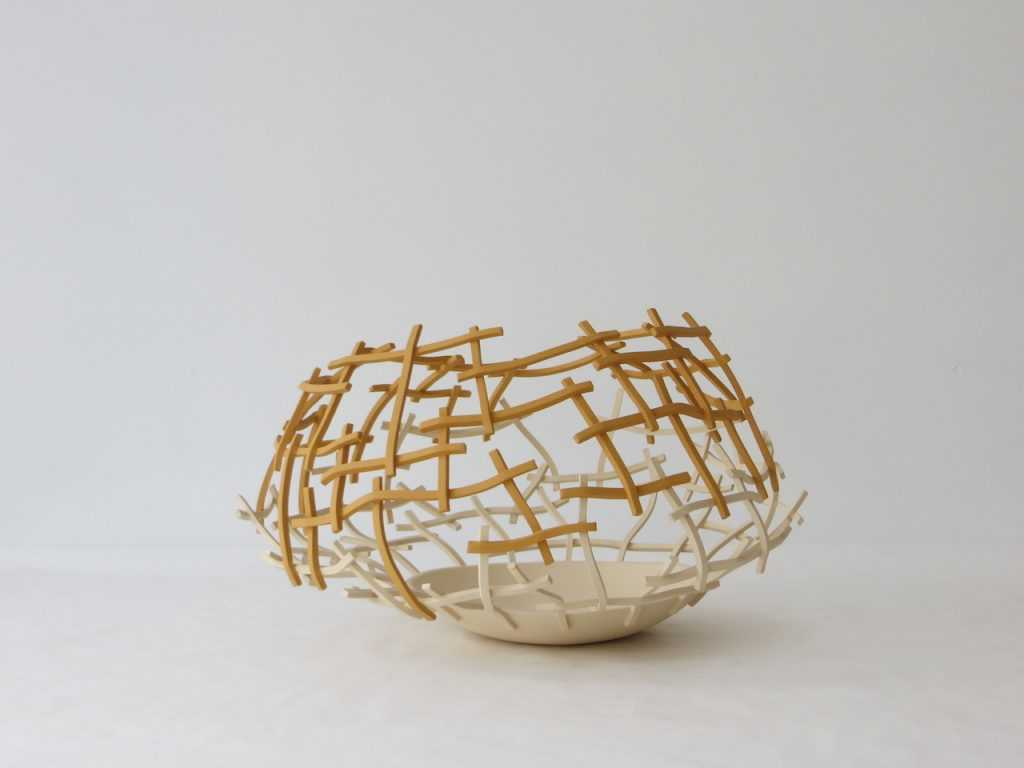 Gravity ceramic installation by Cristina Mato