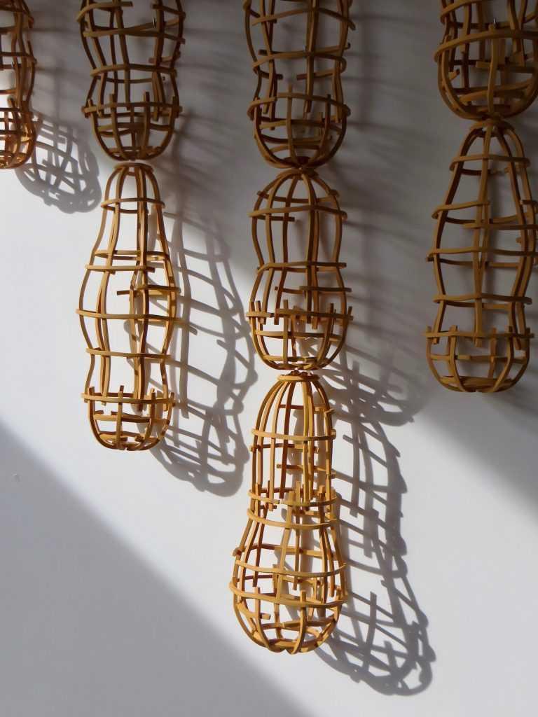 Gravity ceramic installation by Cristina Mato