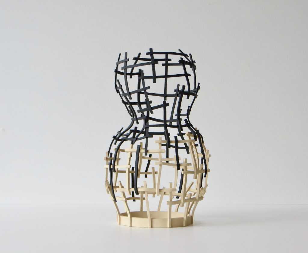 """Not a vase"" ceramic work by Cristina Mato"