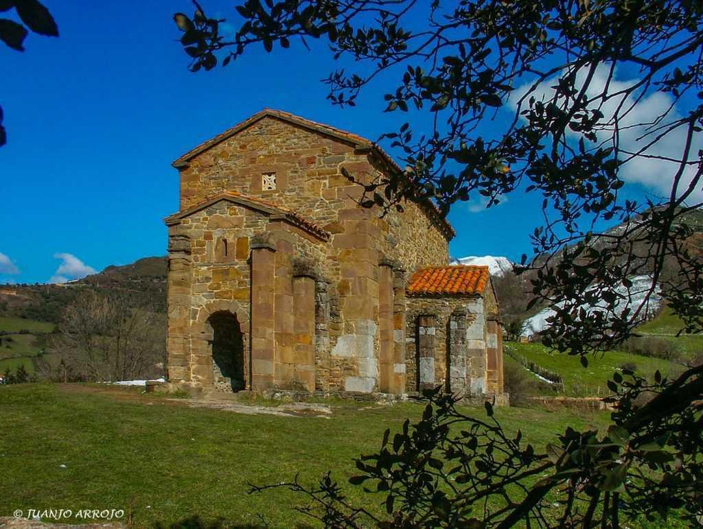 Pre-romanesque church in Asturias