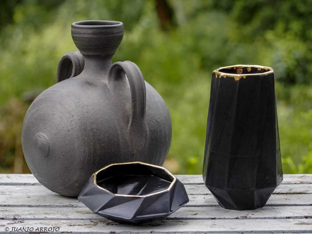 Black Pottery and Woodic ceramic