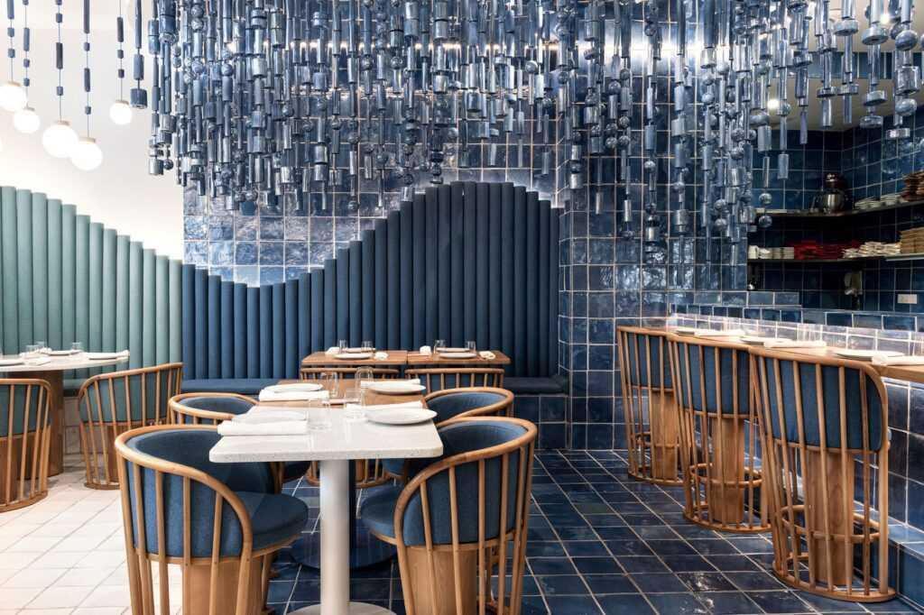 La Sastreria restaurant in Valencia, Spain designed by Masquespacio