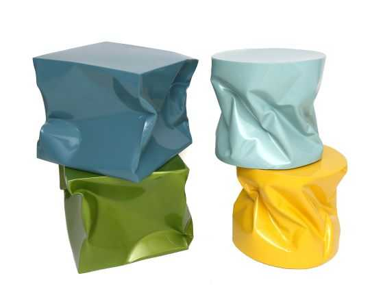 CUBB Stools by Ines Benavides