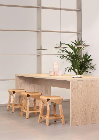 Naoshima stools by Verges Design