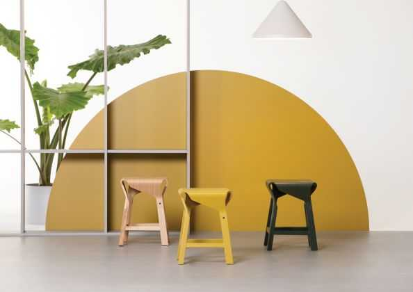 Naoshima stools by Verges Design
